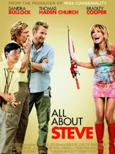 Giăng Bẫy Trai Tơ All About Steve.Diễn Viên: Sandra Bullock,Bradley Cooper And Thomas Haden Church