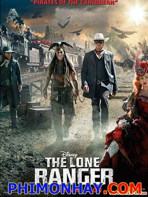 Kỵ Sĩ Cô Độc The Lone Ranger.Diễn Viên: Ohnny Depp,Armie Hammer,Tom Wilkinson