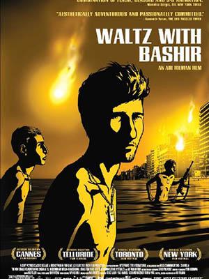 Điệu Valse Của Ký Ức Waltz With Bashir.Diễn Viên: Ari Folman,Ron Ben,Yishai,Ronny Dayag