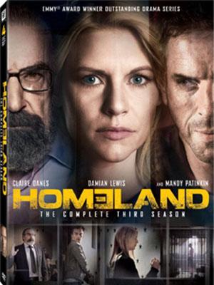 Người Hùng Trở Về Phần 3 Đất Mẹ 3: Homeland Season 3.Diễn Viên: Claire Danes,Mandy Patinkin,Damian Lewis,Rupert Friend