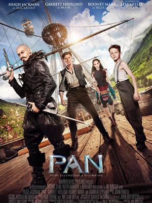 Pan Và Vùng Đất Neverland Neverland Pan.Diễn Viên: Levi Miller,Hugh Jackman,Garrett Hedlund