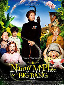 Bảo Mẫu Phù Thủy 2 Nanny Mcphee And The Big Bang.Diễn Viên: Maggie Gyllenhaal,Asa Butterfield,Eros Vlahos