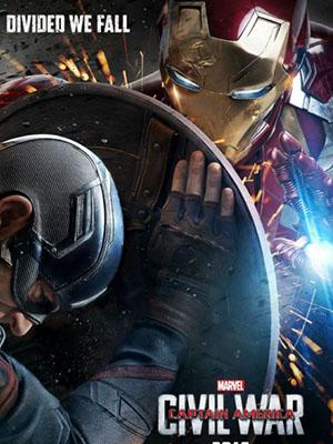 Captain America 3: Civil War Nội Chiến Siêu Anh Hùng.Diễn Viên: Jessica Chastain,Charlie Hunnam,Tom Hiddleston