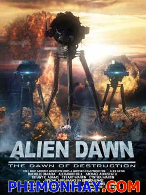 Quái Vật Lúc Bình Minh Alien Dawn.Diễn Viên: Rachelle Dimaria,Brooke Lewis,Alex Bell