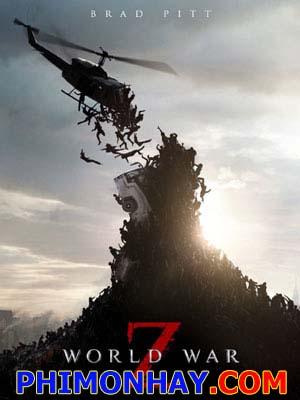 Thế Chiến Z World War Z.Diễn Viên: Brad Pitt,Matthew Fox,Mireille Enos,Eric West