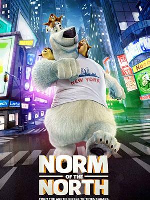 Chú Gấu Bắc Cực Norm Of The North.Diễn Viên: William Shatner,Leonard Nimoy,Deforest Kelley