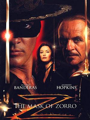 Mặt Nạ Zorro The Mask Of Zorro.Diễn Viên: Antonio Banderas,José María De Tavira,Anthony Hopkins,Diego Sieres,Emiliano Guerra