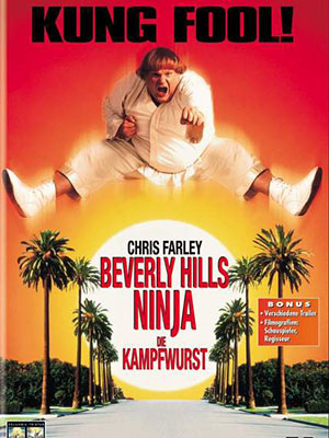 Ninja Đại Náo Beverly Hills Beverly Hills Ninja.Diễn Viên: Chris Farley,Nicollette Sheridan,Robin Shou,Soon,Tek Oh,Keith Cooke,Chris Rock