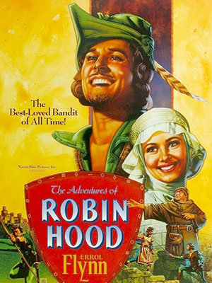 Những Cuộc Phiêu Lưu Của Robin Hood The Adventures Of Robin Hood.Diễn Viên: Errol Flynn,Olivia De Havilland,Basil Rathbone,Claude Rains,Patric Knowles,Eugene Pallette