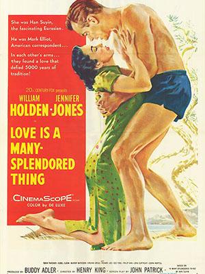 Tình Yêu Là Một Điều Diễm Tuyệt Love Is A Many-Splendored Thing.Diễn Viên: William Holden,Jennifer Jones,Torin Thatcher,Isobel Elsom,Murray Matheson,Virginia Gregg,Richard Loo