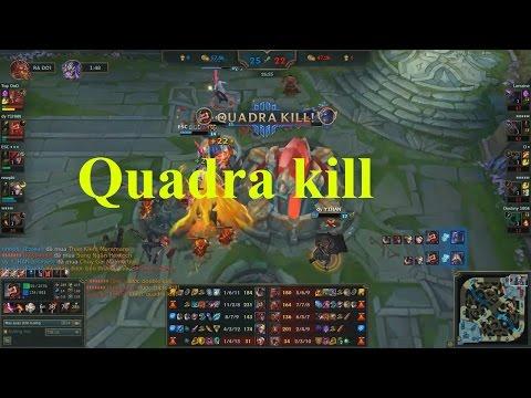 Rank Hàn - Draves Mafia ăn Quadra Kill