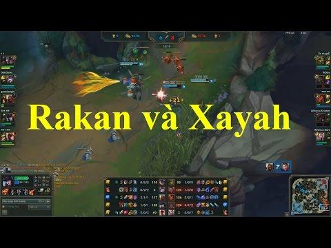 [LMHT] Cặp Đôi Bá Đạo Đường Bot Rakan Và Xayah Cùng Với Sofm Ivern - Rank Hàn