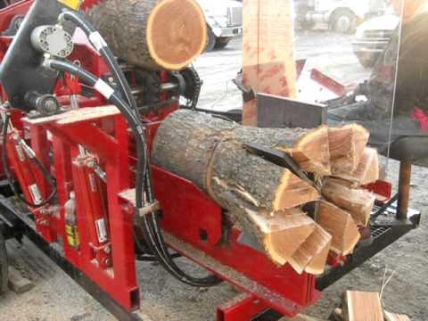Công nghệ cắt và xẻ gỗ hiện đại nhất thế giới