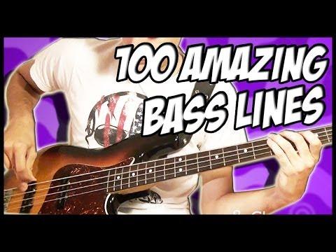 100 ca khúc với guitar bass