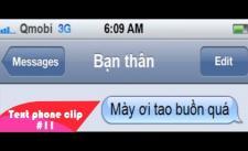 [Text phone clip #11] Khi thằng bạn thân chia tay người yêu