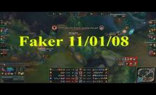 [LMHT] Faker Leblanc Best Đường Mid 11/01/08 - Rank Hàn