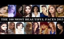 100 gương mặt đẹp nhất thế giới 2013