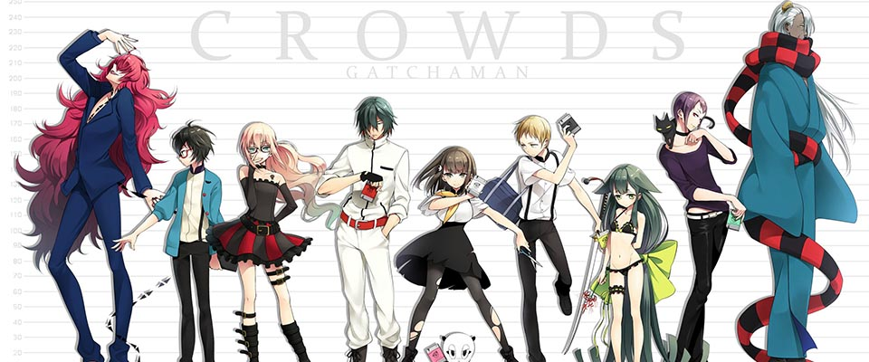 Gatchaman Crowds Insight - Gatchaman Crowds Ss2 (Tập 12/12)